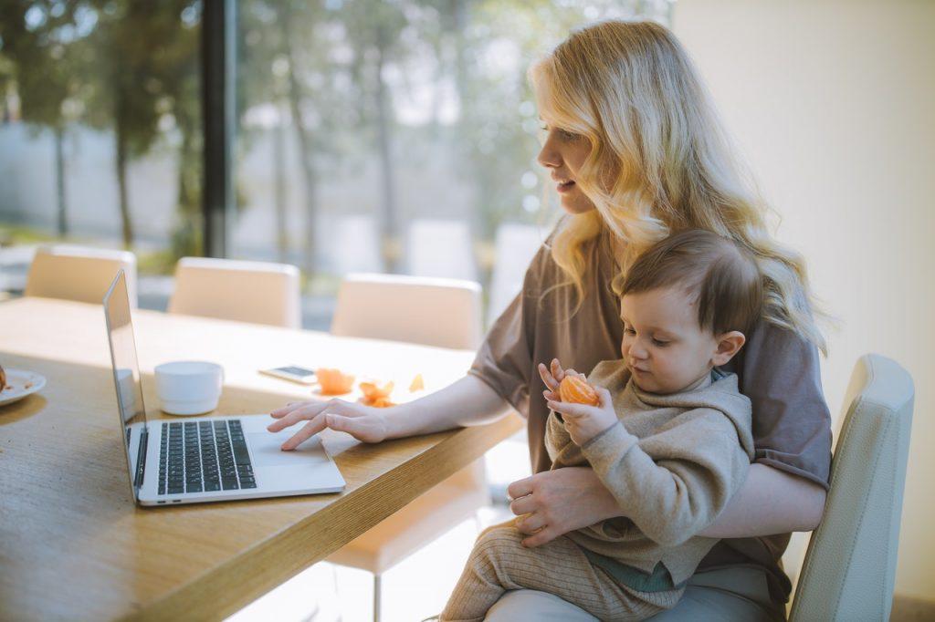 praca zdalna przy dziecku - wskazówki