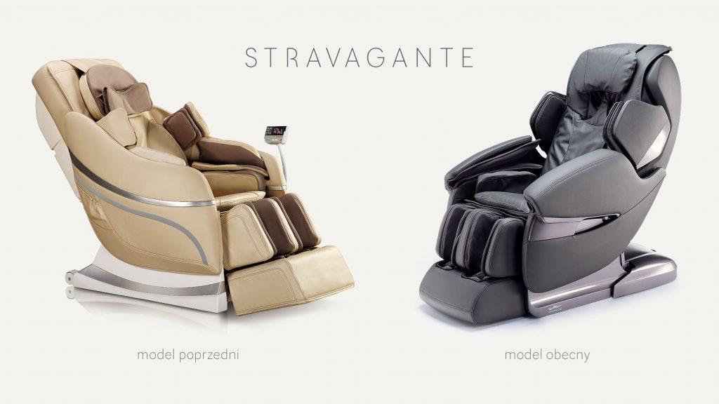 Porównanie foteli Massaggio Stravagante.